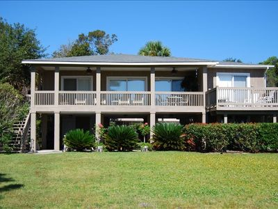 Sea Pines house rental - Home Facing Ocean