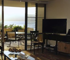 Maalaea condo photo - Watch the waves from your living room or lanai.