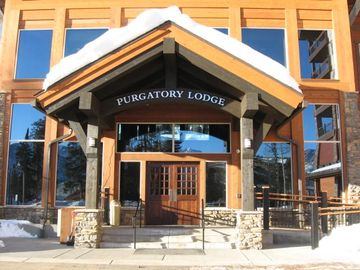 Purgatory Lodge Entrance