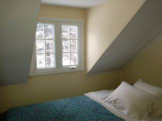 Sainte-Adèle cottage photo - Double bed in mezzanine