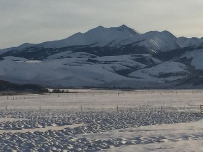 Glorious Views of Bridgeport Meadows and Mountains