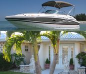 2013 Hurricane Deck Boat/Beautiful Yacht Club Pool Home