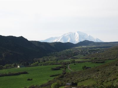 View of Mt. Sopris from a Nearby Hike