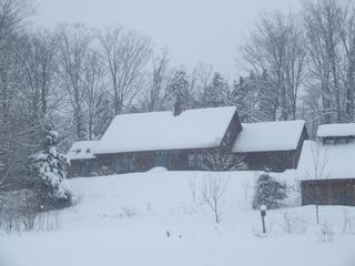 St Johnsbury house photo - House in Snow Storm