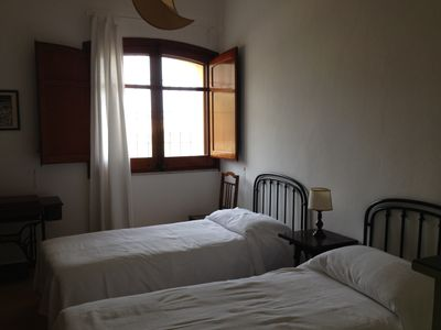 Cefalu villa rental - Twin bedroom