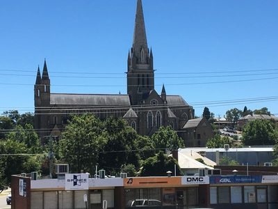 Bendigo CBD - Cathedral Views