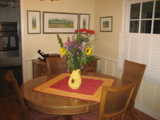Naples house photo - Dining Room Table opens to seat 10.