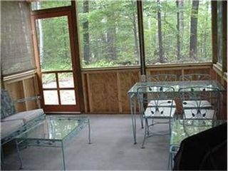 Conway house photo - Screened in patio, perfect for a beautiful summer evening!