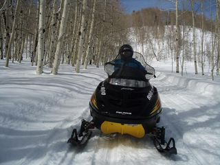 Heber City cabin photo - Access to some world-class snowmobiling areas.