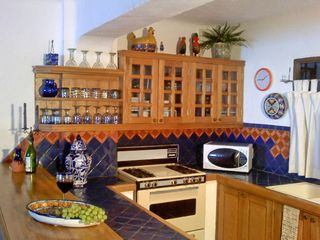Puerto Vallarta condo photo - Well appointed Kitchen & breakfast bar. Eat in or dine out in 'Old Town' cafe