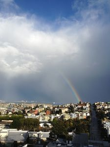Rainbow from your deck