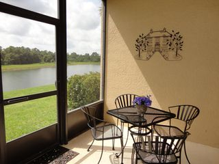 Oakwater townhome photo - with lake and conservation views