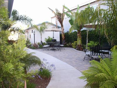 Courtyard at Pismo Cove