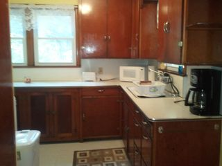 Ludington cottage photo - Large kitchen