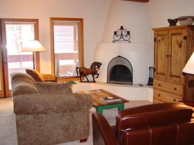 Santa Fe condo rental - Living Area