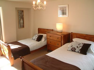 Looe house rental - Twin room