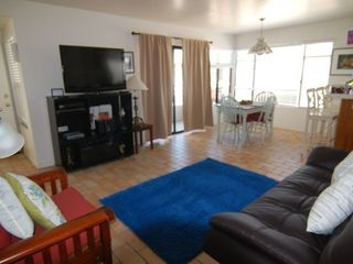 South Mission Beach house photo - nice spacious living room in the attached apartment