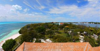 Isla Mujeres estate photo - view from third floor terrace