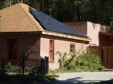 Durango house rental - 2KW Solar Electric system provides green power for the house!