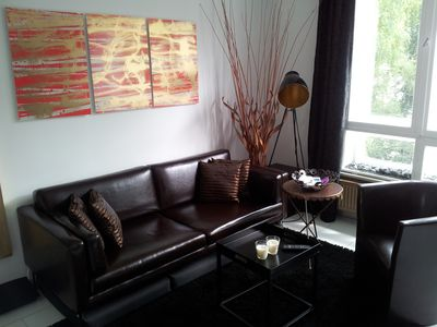 Tempelhof-Schoneberg apartment rental - Living area