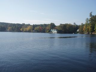 Bridgton house photo - view from the dock