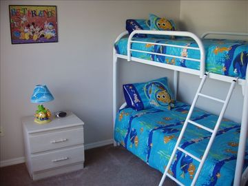 Bunk Beds With Disney Theme