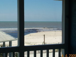 Port St. Joe townhome photo - Beach Bungalow Master Bedroom Deck View