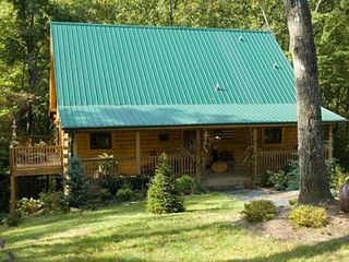 Cozy with privacy and nature! - Wears Valley cabin vacation rental photo
