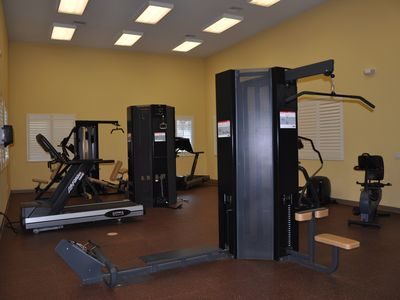 State of the art fitness room