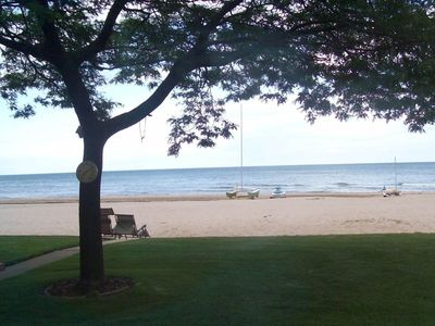 East Tawas house rental - sugar sand beach!