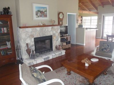 Driftaway great room with fireplace - flat screen HDTV