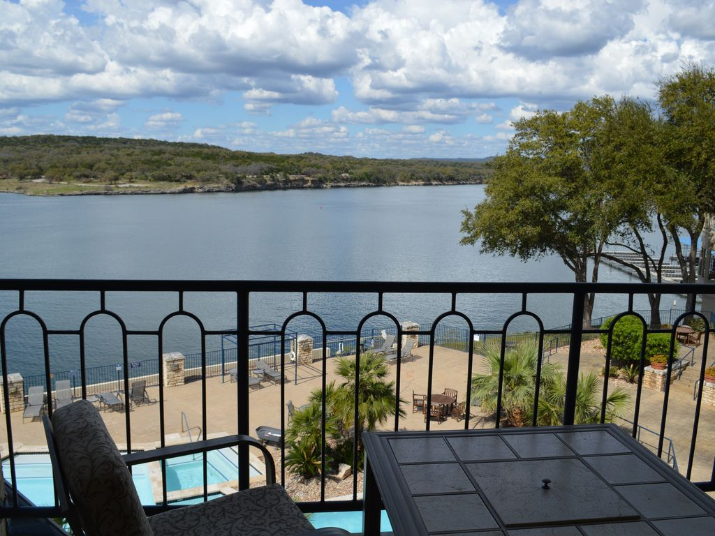 Amazing 3rd Story View Lake Travis Condo on Private Island