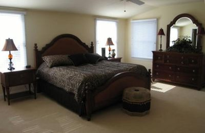 Third Floor Master Suite with King Bed Full Bath with Shower and Private Deck