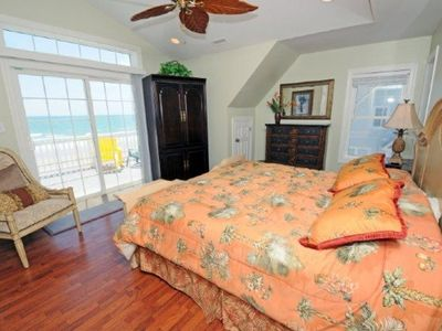 North Topsail Beach house rental - King Master Bedroom