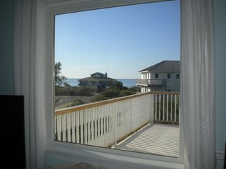 St George Island house photo - View from the living room