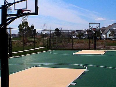 Basketball & Volleyball Sport Courts - Sign Out for Balls at Desk & Enjoy!