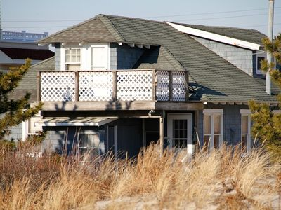 ....view of house from beach dune
