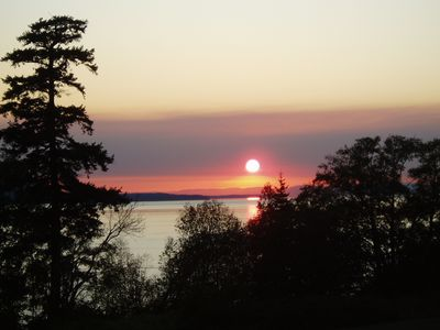 Gorgeous Lummi Island Sunset