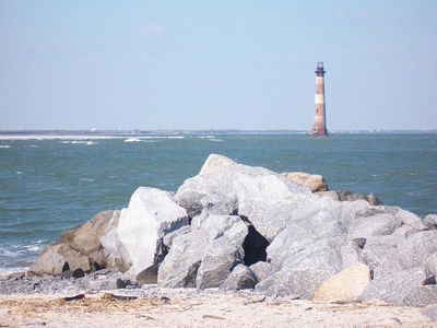 Folly Beach villa rental - Must See The Morris Light House