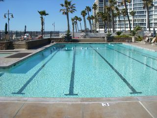 Pool and whirlpool. - Coronado condo vacation rental photo