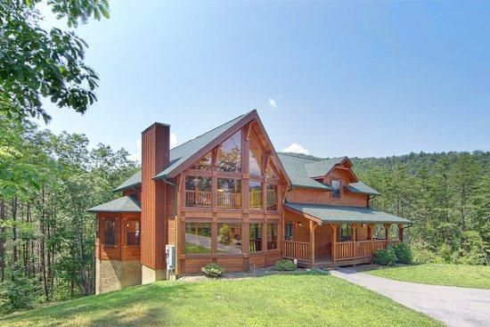 beautiful family owned luxury cabin homeaway pigeon forge