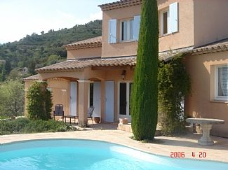 Villa In Auribeau with private pool between Cannes and Grasse