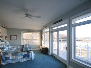 Southold house photo - Master Bedroom feels like you're under the stars!