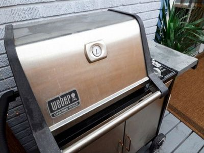 2 Large and high end stainless gas grills