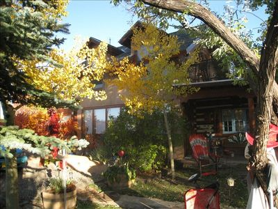 Casa Carmen last  fall  during Indian Summer showing just how beautiful it is..