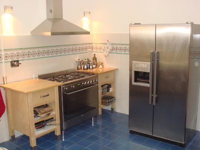 Kitchen with all equipment.