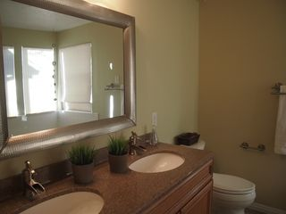 Cottonwood Heights townhome photo - Master bathroom with dual sinks
