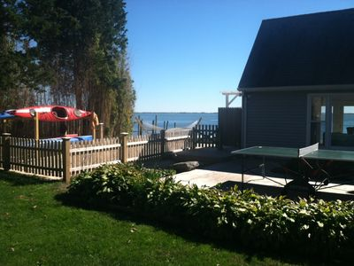 Hampton Bays house rental - Kayaks and Ping Pong Table