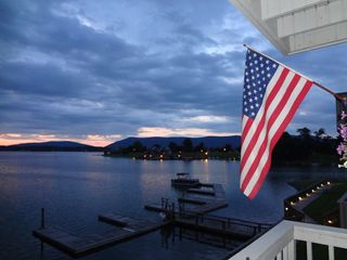 Moneta condo photo - Bernard's Landing is a great place to spend the 4th of July.