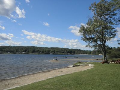 Enjoy fun water activities at Crystal Lake, Lake Willoughby or rivers near by!